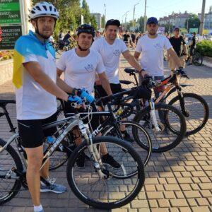 Велопарад на честь Дня Незалежності